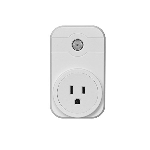 Price comparison product image Amiley Smart Switch, Wifi Smart App Remote Control Timer Socket US Plug Home Automation (White)