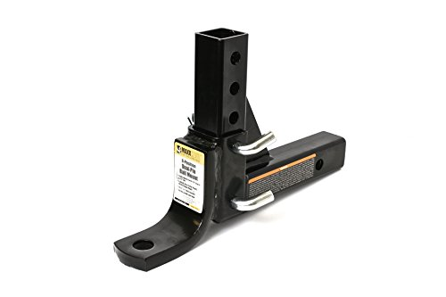 MaxxHaul 70067 8-Position Adjustable Ball Mount - 5000 lbs. GTW (Adjustable Trailer Hitch Ball Mount)
