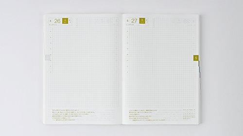 Hobonichi Techo Cousin - Liberty Fabrics: Fluttering Set (Japanese/A5/Jan 2018 Start) by Hobonichi Techo (Image #6)'