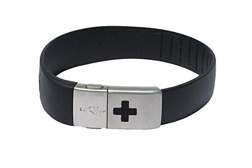 EPIC-id 10-4001BLK USB Emergency ID Band, - Epic Band The