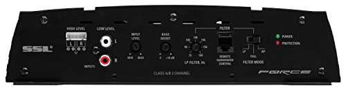 Sound Storm FR1000.2 Force 1000 Watt, 2 Channel, 2 to 8 Ohm Stable Class A/B, Full Range, Bridgeable, MOSFET Car Amplifier with Remote Subwoofer Control by Sound Storm Laboratories (Image #7)