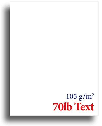 Monarch Executive Letterhead - 7.25 x 10.5 inch - Quality Blank White 70lb Text (105gsm) Stationery Paper (250 Sheets)