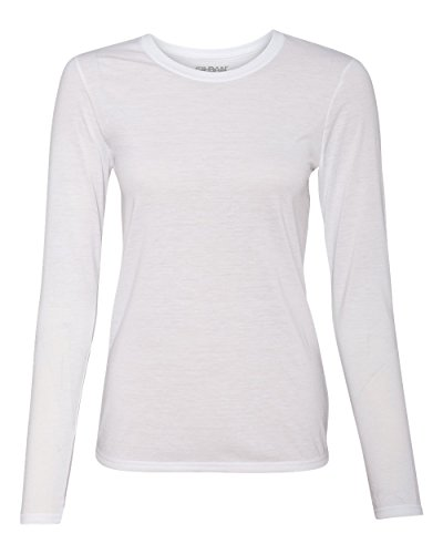 Gildan Women's Anti-Microbial Performance T-Shirt, X-Large, (Polyester Antimicrobial)