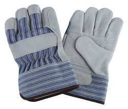 CONDOR 2MDD5 Glove, Select Leather, Double Palm, S, -