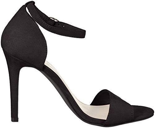 Nero Punta 101 Bianco Basic Donna black 100 Sandali Aperta qnxYtAw4