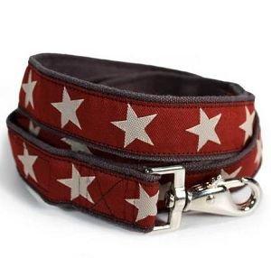 Hemp Star Dog Leads-4FT-KODYII(RED)