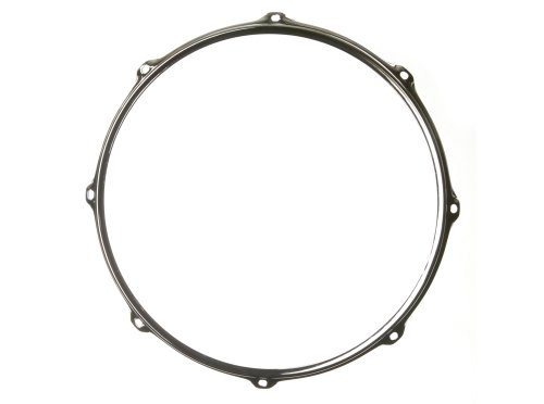 Ahead S-Hoop Drum Hoop Chrome 16 Inch 8 Hole