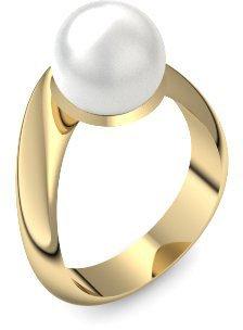 Perlenring Gold Ring Akoya Perle Weiss 750 Inkl Luxusetui Akoya