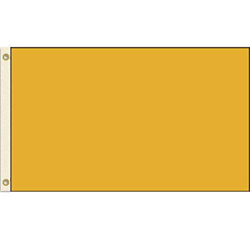 Solid Gold 3X5 Polyester Flag