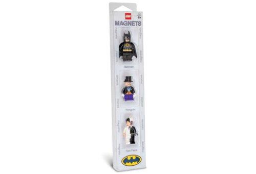 - LEGO Batman Minifig Magnet Set (3) - Batman, Penguin, Two-Face