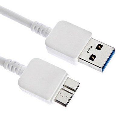 MYTK Cable cargador USB 3.0 para Samsung Galaxy S5 / Galaxy ...