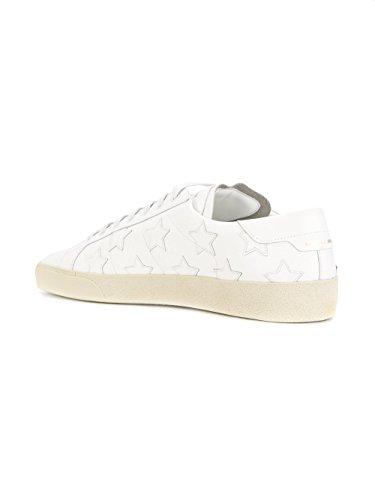 Saint Laurent Herre 4855850mp009030 Weiss Leder Sneakers m5GPS