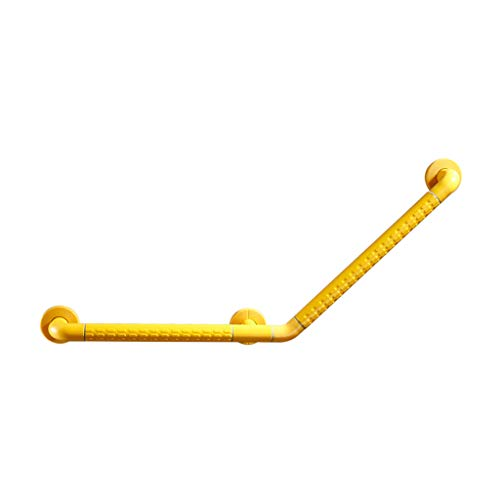 Bath & Shower Grab Bars Wall Safety Handle Bathtub Bathroom Toilet Toilet Slip Disabled Elderly Handrail Yellow White Non-Slip Long for The Elderly (Color : Yellow, Size : 78cm)