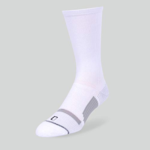 f852788ad IQ High Performance – Men/Women 6 Pack Crew Socks with Compression Arch and  Dry