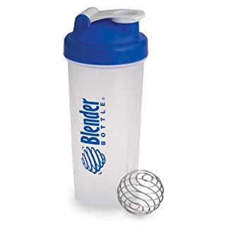 New Classic BPA Free Genuine Blue 28-oz Large Original Sundesa Blender Bottle Shaker Mixing Cup with Wire Whisk Stainless Steel Mixing Ball for Shakes,drinks, Dressings, Protein Shakes,fitness Drinks and Workouts.