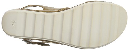Vista 69-nn02 - Tira de tobillo Mujer Mehrfarbig (Braun/Metall)