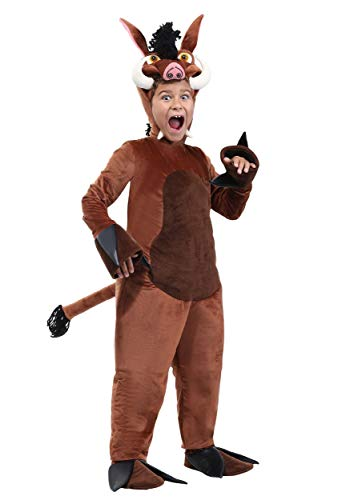 Child Warthog Costume Large -