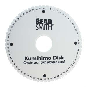 64 Slot Kumihimo Disk for using up to 40 strings! Extra Thick Foam for fine Threads, Wire & Beaded Kumihimo (Best Thread For Beaded Kumihimo)