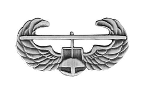 (HMC Army Air Assault Lapel Pin - Antique Silver - 14315ANSI (7/8