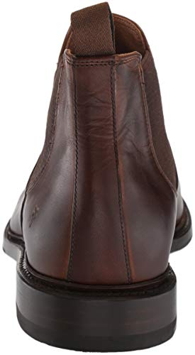 Dark Men's FRYE Chelsea Boot Brown Paul 8OqqdI