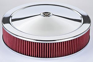 JEGS 50002 Air Cleaner with Smooth Top