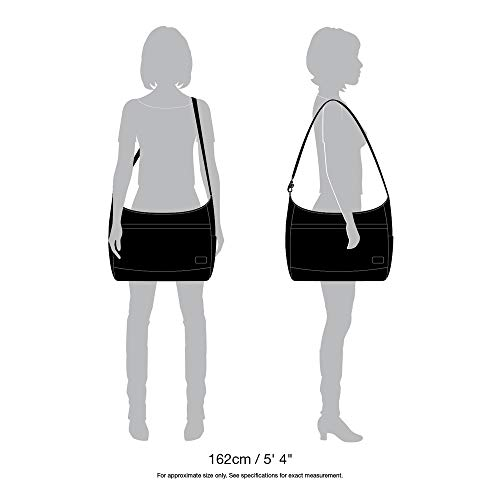 Theft Citysafe Negro Handbag CS200 Pacsafe Anti d0xtwq