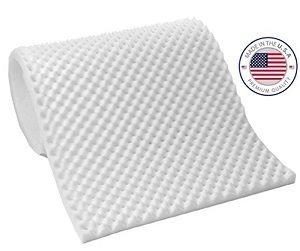 "Price comparison product image Convoluted Egg Crate Foam 2.5""X 36""X 72"" Acoustic Foam Covers - SoundProofing Blocking Absorbing Panel Wall - Made in The USA! FREEE Shipping!!!!"