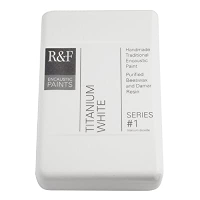 R&F Encaustic 333ml Paint, Titanium White
