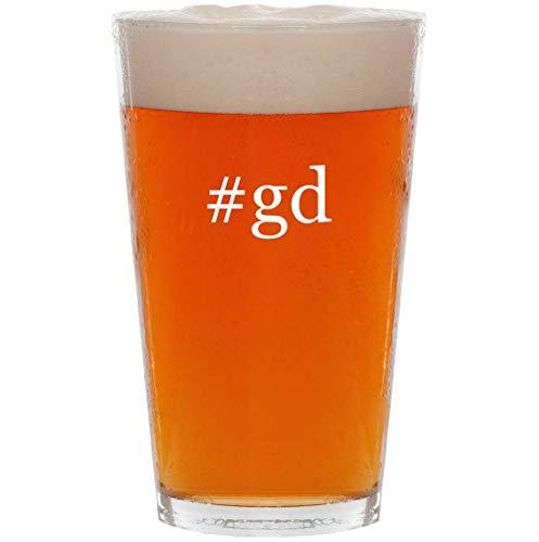 #gd - 16oz Hashtag All Purpose Pint Beer Glass (Griffeys Air Max 2)
