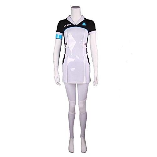 Become Human Kara Cosplay Costume Women T Shirt Dress Pants Uniform Full Set XL by Joyfunny (Image #1)