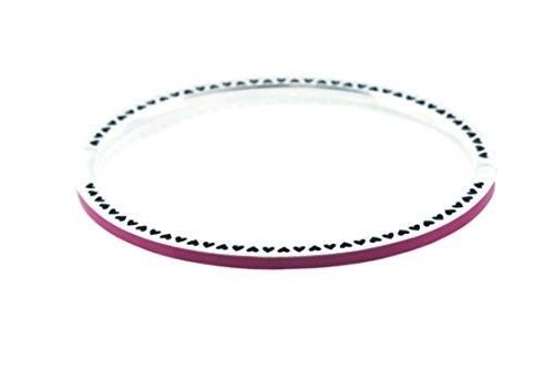 Bracelet Pandora 590537en69–2Femme Cœur radiantes Cerise