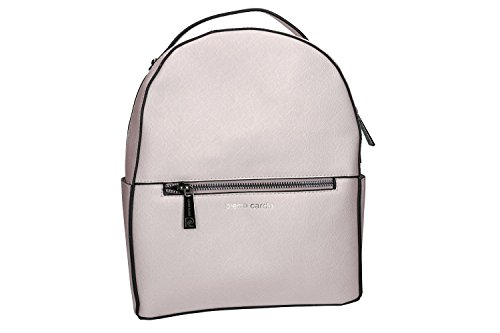 Bolsa mujer mochila hombro PIERRE CARDIN viola con abertura zip VN992