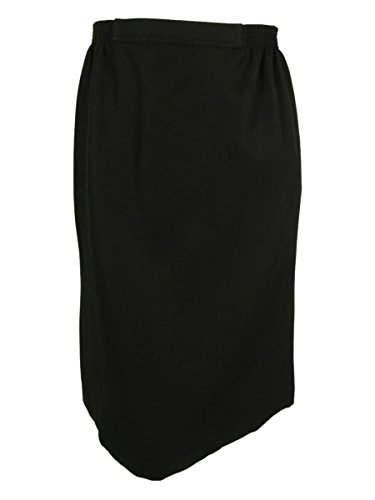 Alfred Dunner Women's Plus-Size Skirt, Black, 22W