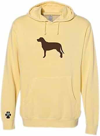 Heavyweight Pigment-Dyed Sweatshirt with Nova Scotia Duck Tolling Retriever Silhouette