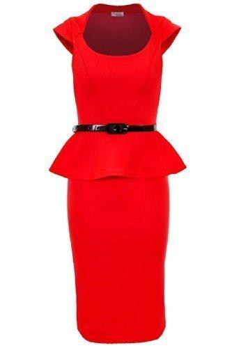 Fantasia Boutique -  Vestito  - Donna rosso 46