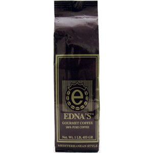 Turkish Coffee 100% Pure, 16oz by EDNA