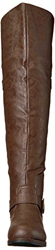 Co Brinley Over Women's Brown Sugar Boot Knee the pOqzSqnP