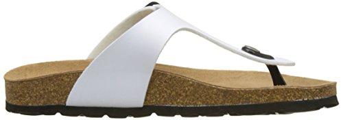 Sara Piscine Grunland Femme Bianco et Plage Blanc de Bianco Chaussures FX1xrdq1