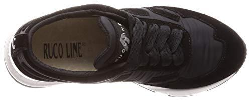 Ruco Line Scarpe Black 83573 Donna 4009 gZgqB7Ow