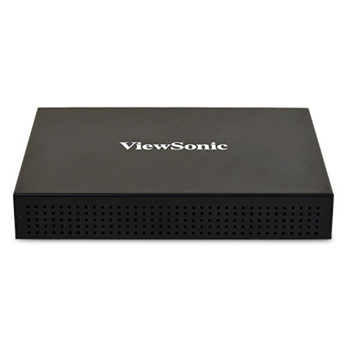 ViewSonic SC-A25X Network Media Player with DisplayIt!Xpress CMS for Digital Signage (Best Player For Vob Files)