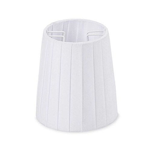 Amazon.com: SELETTI lámpara poliéster blanco para lámpara de ...
