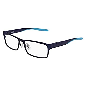 Puma PU 0234 O- 002 - Gafas de sol, color azul: Amazon.es ...