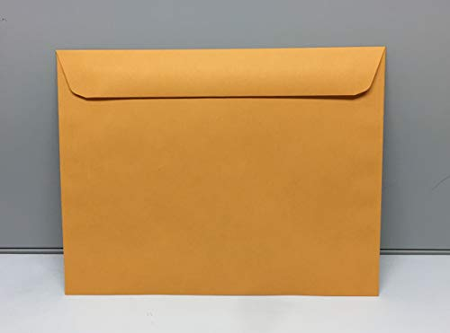 10 x 13 Booklet Envelopes Brown Kraft 28Lb Big Envelopes Open Side Envelopes 50/Pack 10x13