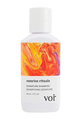 Voir Haircare, Sunrise Rituals Voir Haircare Signature Shampoo Travel Size, 60 mL