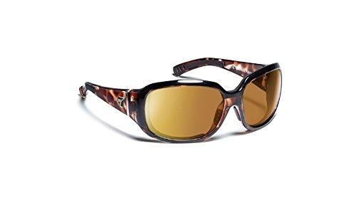 7eye by Panoptx Mistral Frame Sunglasses with Gray Lens, Leopard Tortoise, - Dry Sunglasses Eye