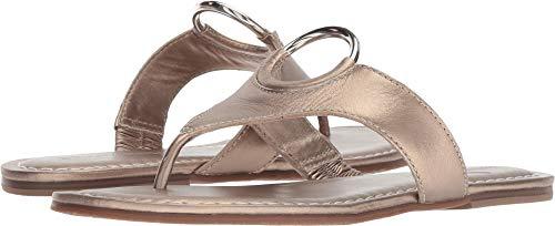 Bernardo Women's Mallory Sandal Platinum Antique Calf 7 M US