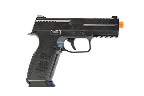 Pistola Airsoft de resorte FN Herstal FNS-9, negra, 300 FPS
