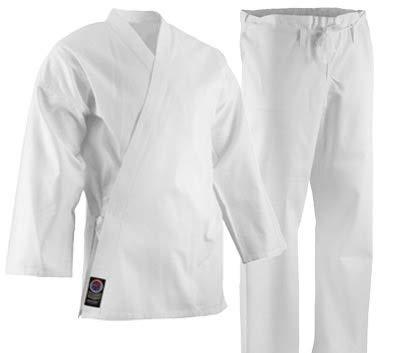 Pro Force White Ultra Lightweight Uniform - 5oz - 000