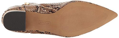 STEVEN by Steve Madden Womens Bollie Ankle Bootie Natural Multi