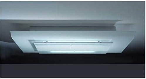 Falmec Cielo 600 m³/h De techo Blanco - Campana (600 m³/h, 53 dB, 68 dB, De techo, Blanco, Vidrio): Amazon.es: Hogar